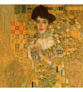 Serviette Klimt - Adéle bloch bauer