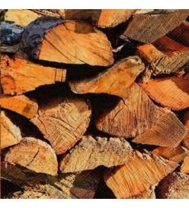 Serviette bois coupé