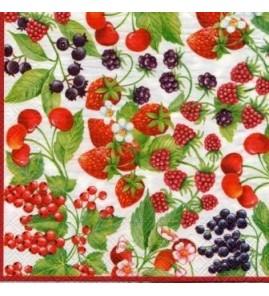 Serviette mille fruits