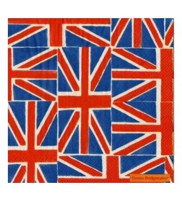 Serviette drapeau anglais