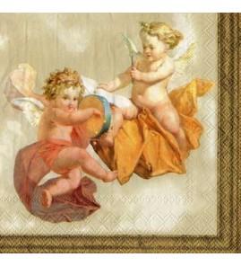 Serviette angelots
