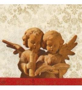 Serviette poterie des anges