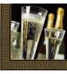 Serviette flûtes à champagne