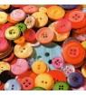 Serviette boutons multicolores