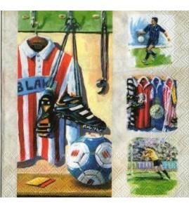 Serviette football