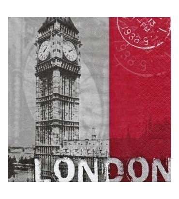 Serviette Londres gr