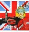 Serviette Londres bbr