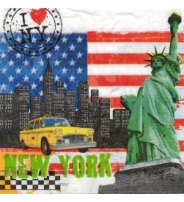 Serviette new york bbr