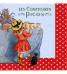 Serviette confitures picon