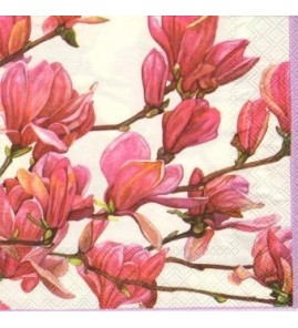 Serviette cherry blossom