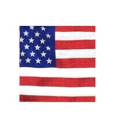 Serviette drapeau américain