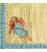 Serviette ange tricot