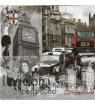 Serviette London Vintage