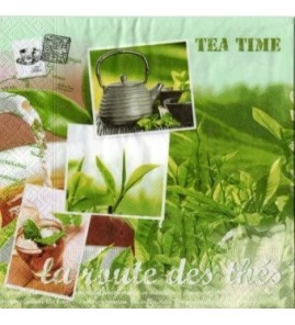 Serviette Tea Time