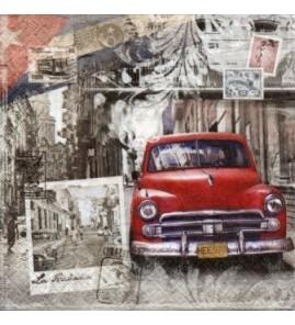 Serviette Cuba Vintage