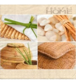 Serviette Natural Home