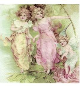 Serviette Petites fées