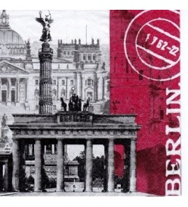 Serviette Berlin GR