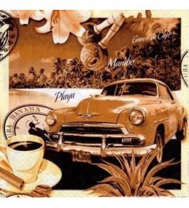 Serviette Havana Cuba