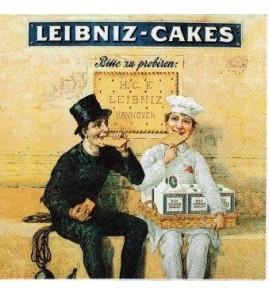 Serviette Leibniz Cakes