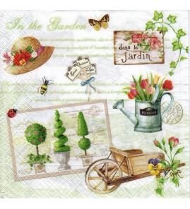 Serviette «gardening»