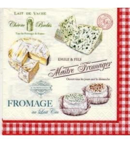 Serviette «maître fromager»
