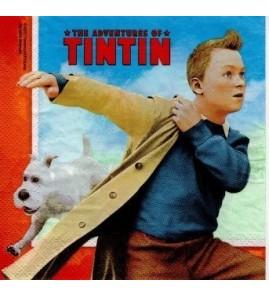 Serviette «Tintin»