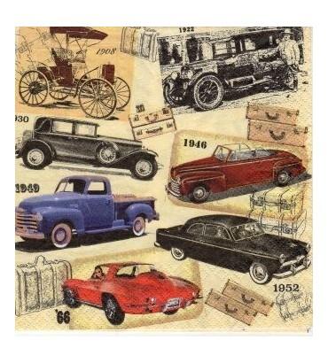 Serviette voitures anciennes
