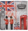 Serviette « london time »