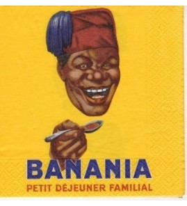 Serviette «banania»