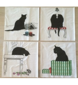 Lot  « chats design »