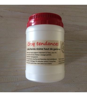 Colle/vernis résine polymère 250 ml