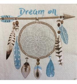 Serviette attrape rêve