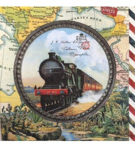 Serviette train express