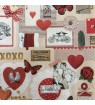 Serviette love ticket