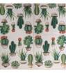 Serviette  cactus