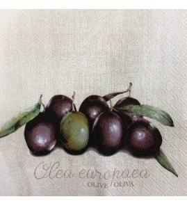 Serviette olives