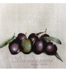 Serviette olives