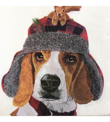 Serviette chien oliver