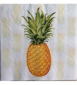 Serviette ananas