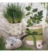 Serviette mix herbes