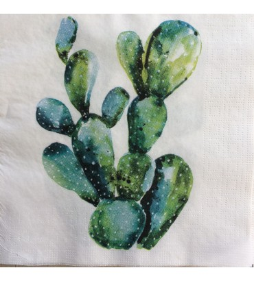 Serviette cactus ppd