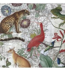 Serviette exotic world