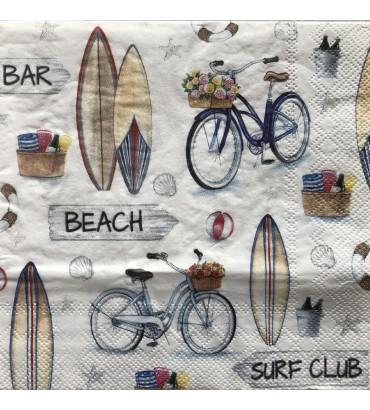 Serviette surf club